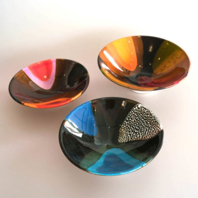 Small bowls by Brian Gartside