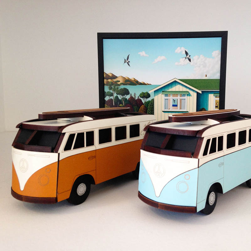 Kombi Boxes by Ian Blackwell