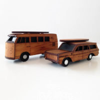 Kombi and Holden boxes by Ian Blackwell