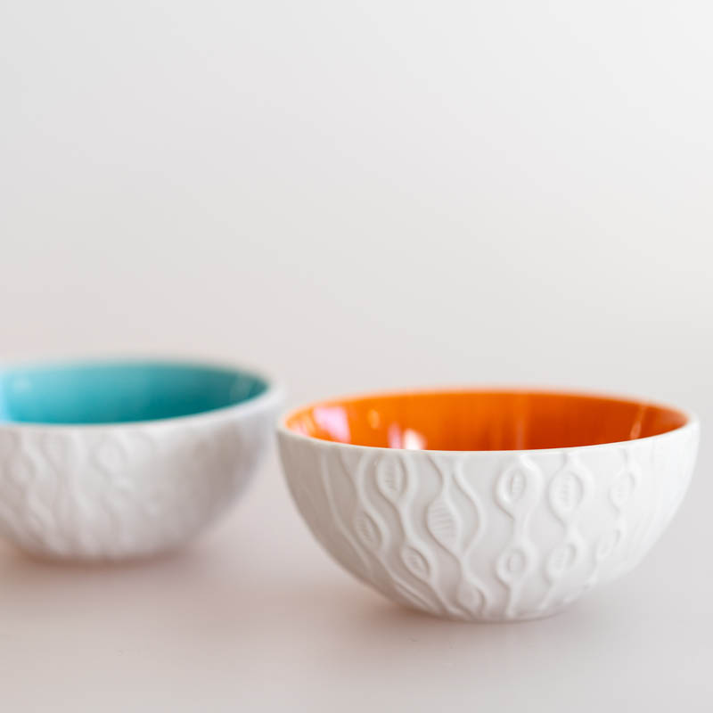 Kowhai bowls by Jo Luping