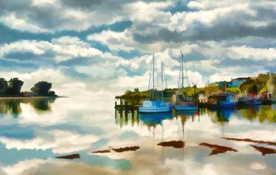 Riverton Harbour by Melissa Thoroughgood