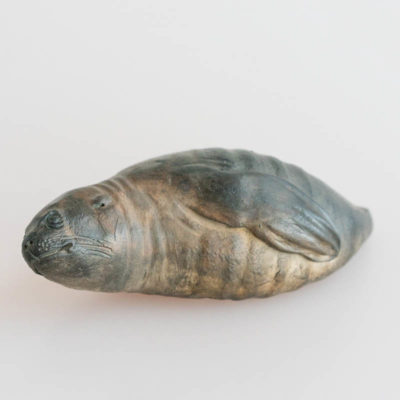 Raku seal by Peter Johnson