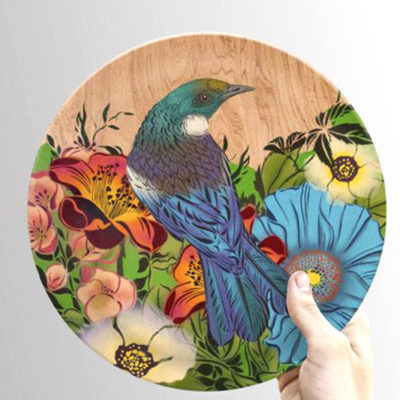 Bamboo plate by Flox