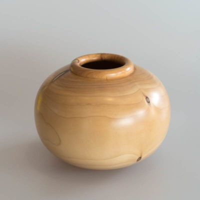 Cyprus wooden vessel by Peter Aalders