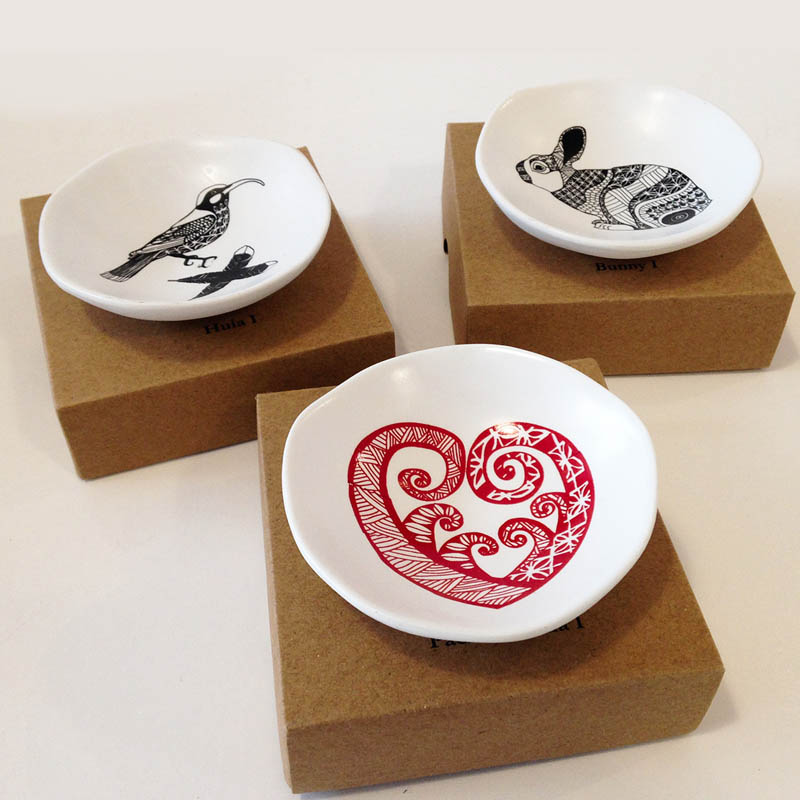 Trinket dishes by Jo Luping